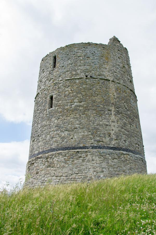 Hadleigh-Schloss Essex England stockbild