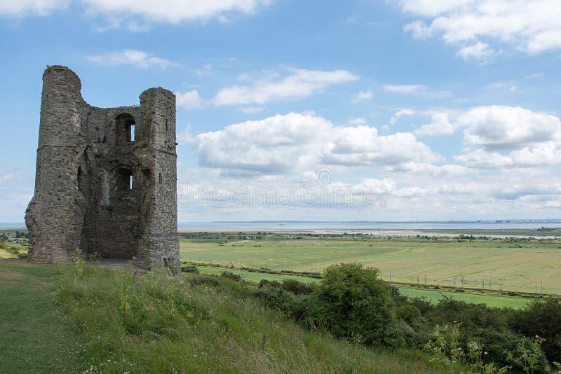 Hadleigh-Schloss Essex England lizenzfreies stockfoto