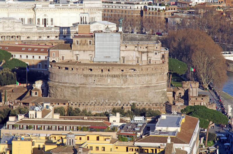 Download Hadrian's Mausoleum stock photo. Image of catholic, castle - 20114498