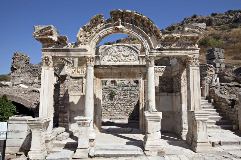 Hadrian S Temple, Ephesus Royalty Free Stock Images
