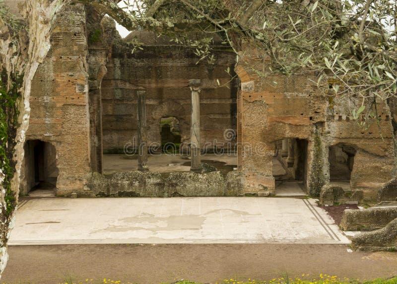Hadrian` s Villa stock fotografie