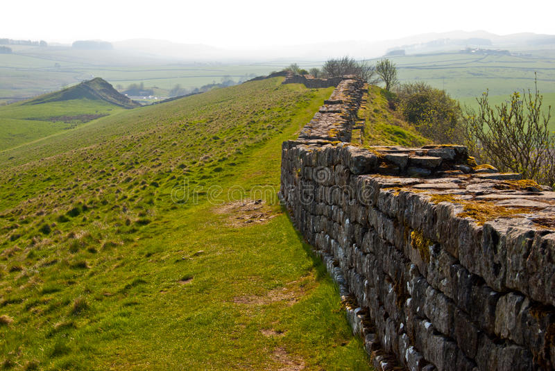 Hadrian's wall stock photography