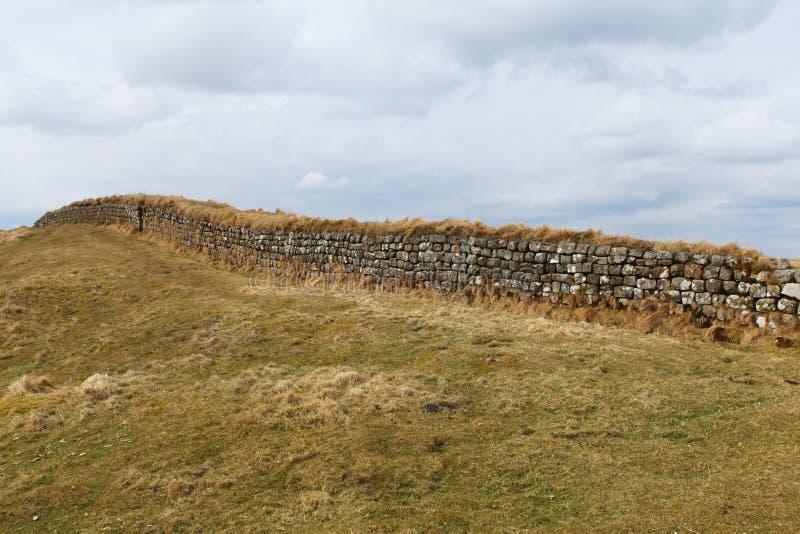 Hadrian S Wall Royalty Free Stock Photo