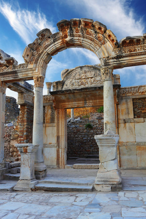 Download Hadrian Temple stock photo. Image of holiday, archeology - 34230510