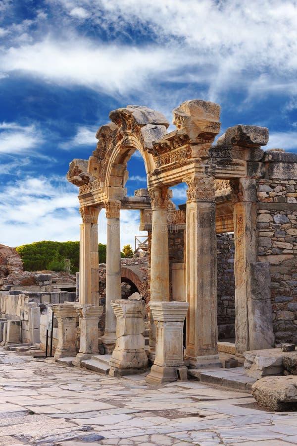 Hadrian Temple Royalty Free Stock Photos