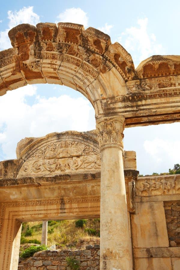 Hadrians Tempel Lizenzfreies Stockbild
