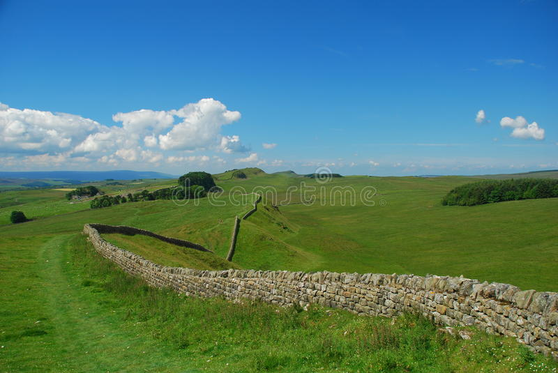 Download Hadrian Wall Landscape, England Stock Photo - Image: 20869202