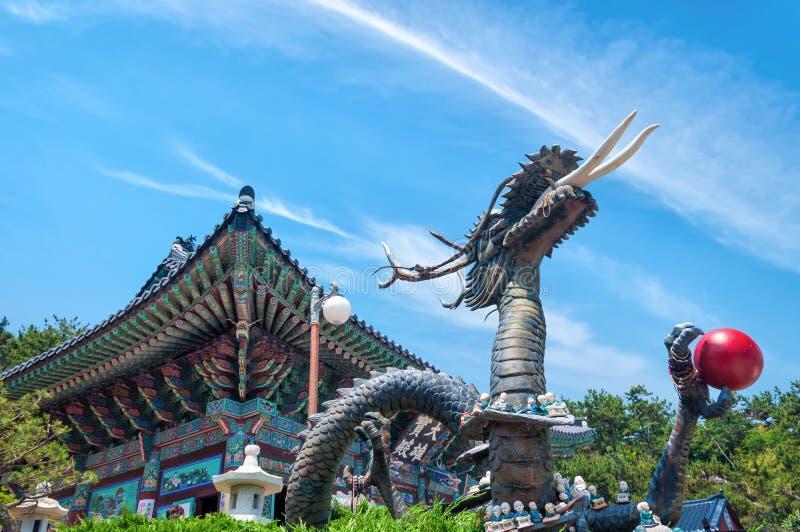 Haedong Yonggungsa寺庙 免版税库存图片