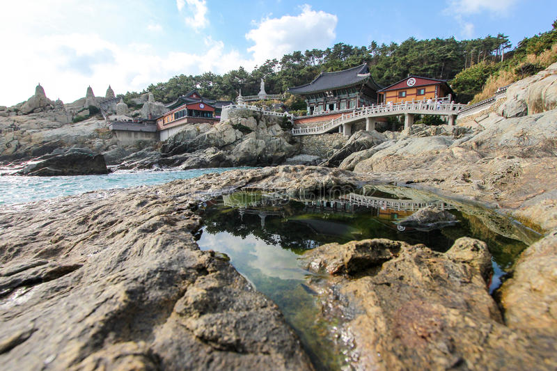 Haedong Yonggungsa seaside temple in Busan, Korea - Series 2 royalty free stock photography