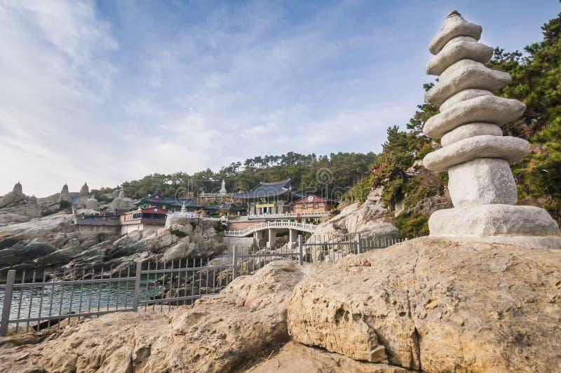 Haedong Yonggungsa temple. Haedong Yonggungsa seaside temple at Busan, Korea royalty free stock photography