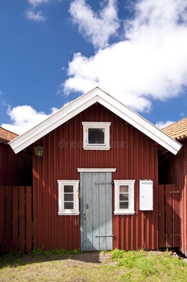 Haellevikstrand fotografía de archivo