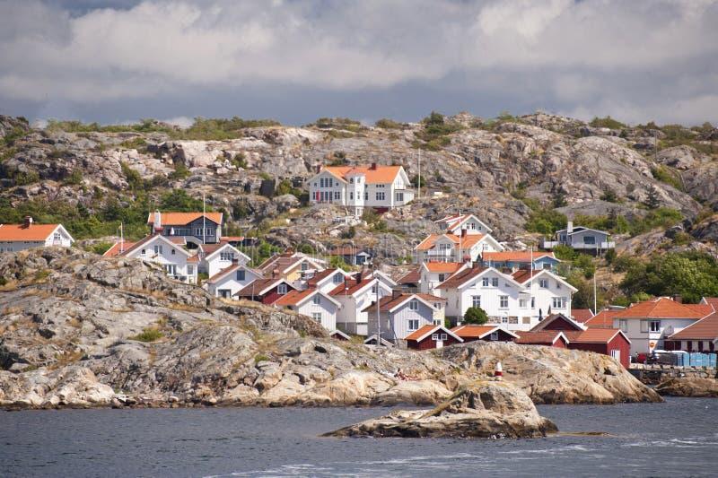 Haellevikstrand fotografía de archivo libre de regalías