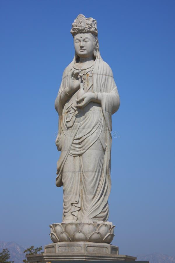 haesugwaneumsang buddyjska statua obrazy royalty free