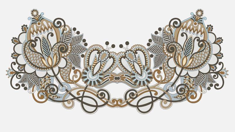 hafciarskiej mody ilustracyjny neckline wektor ilustracja wektor
