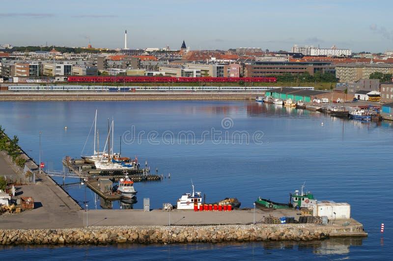 Hafen stockfotografie