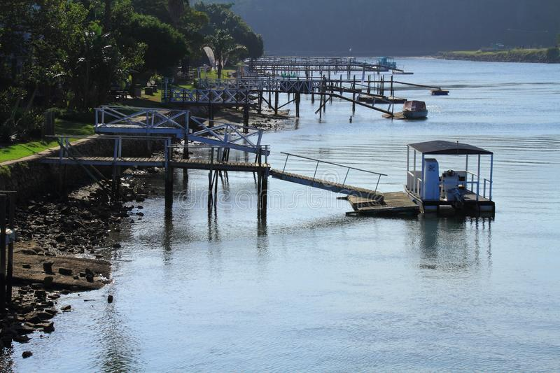 Hafen Alfred Eastern Cape South Africa stockfotos