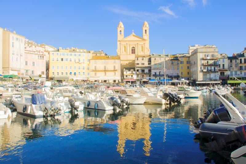 Hafen Bastias Vieux lizenzfreies stockbild