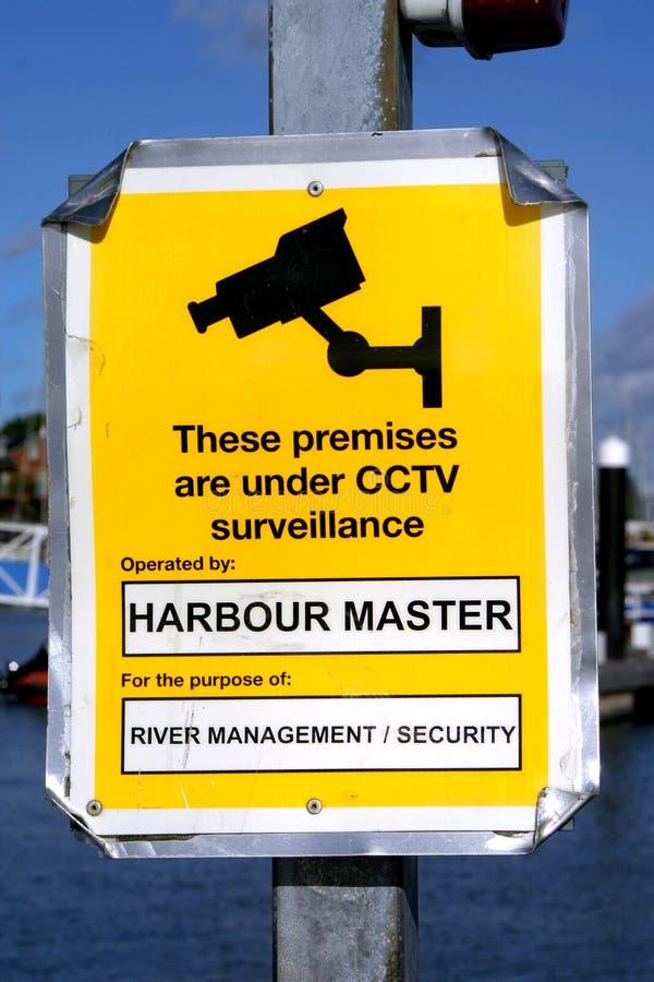 Hafen CCTV stockfotos