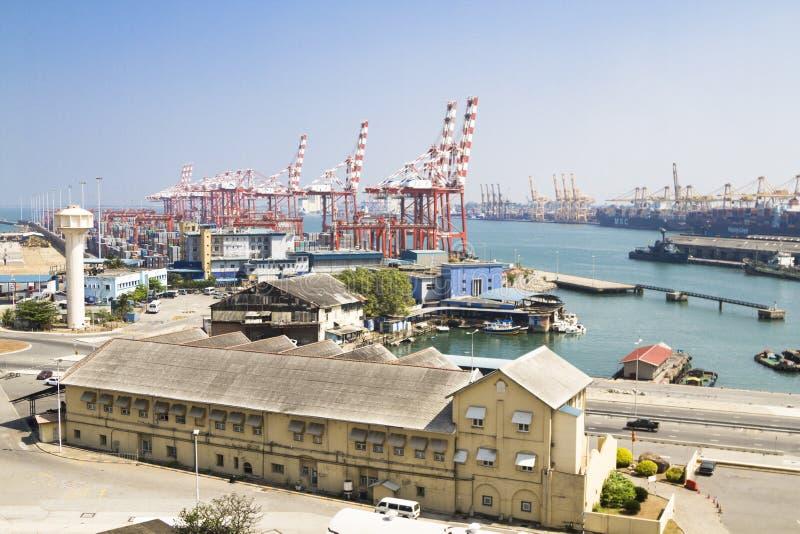 Hafen in Colombo, Sri Lanka, stockfotos