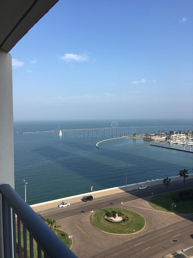 Hafen Courpus Christy lizenzfreies stockfoto