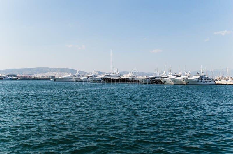 Hafen für die Boote lizenzfreies stockbild