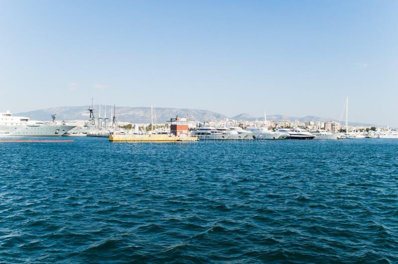 Hafen für die Boote lizenzfreie stockfotografie