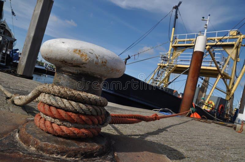 2015 05 Hafen Fischkutter Texel arkivfoto