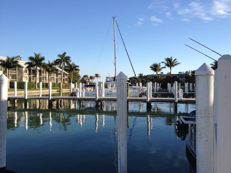 Hafen in Florida lizenzfreie stockfotografie