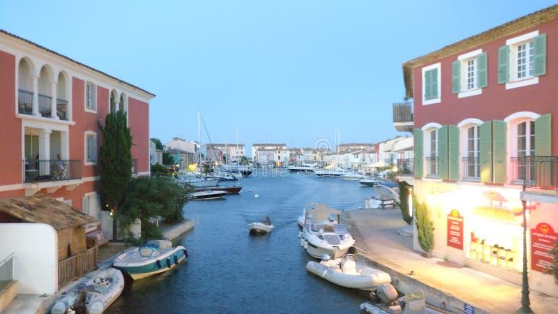 Hafen Grimaud lizenzfreie stockfotos