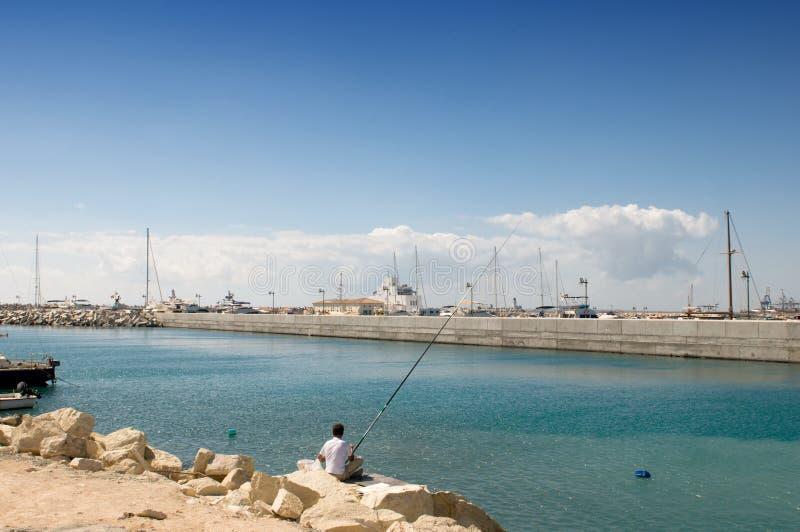 Hafen in Limassol - Zypern lizenzfreie stockfotografie