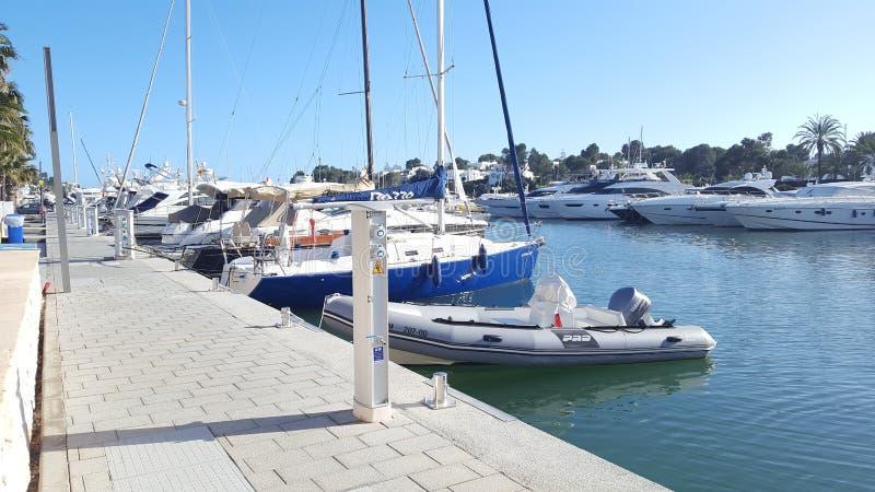 Hafen in Mallorca royalty-vrije stock foto