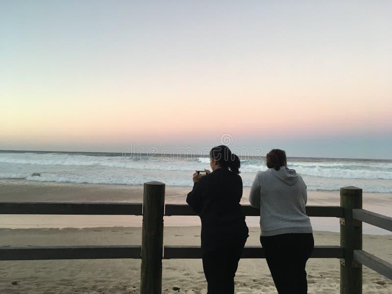 Hafen Maquarie-Strand lizenzfreies stockbild