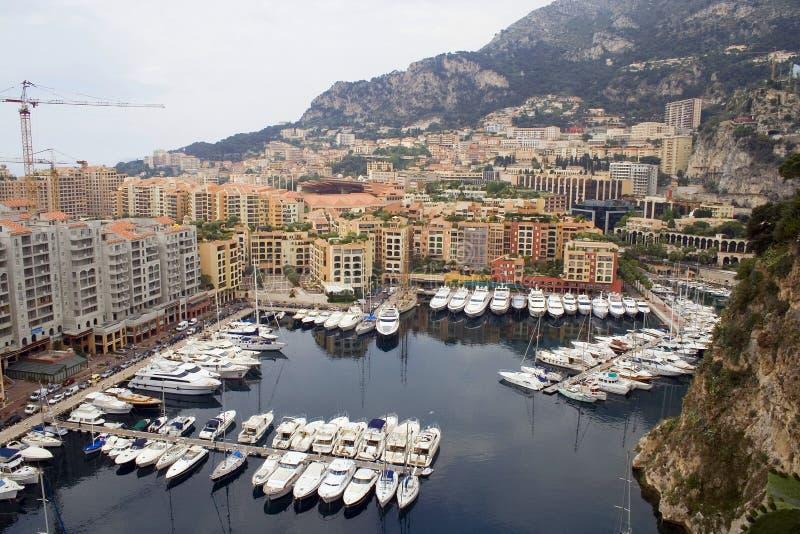 Hafen in Monte Carlo stockfoto