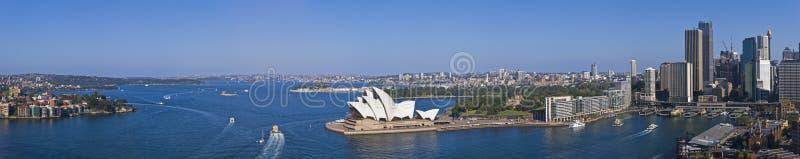 Hafen-Panorama XXXL der Betäubungs-Sydney stockfotografie