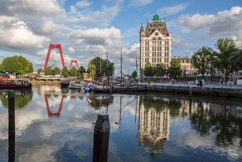 Hafen Rotterdams Oude stockfotos
