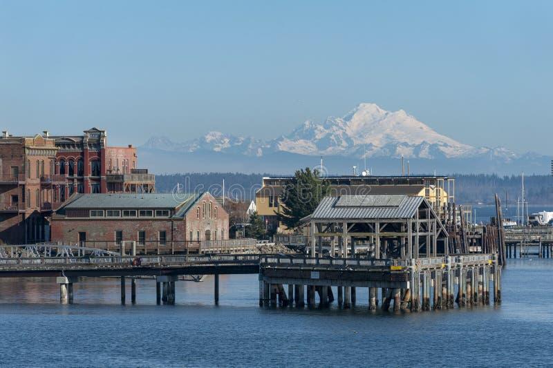 Hafen Townsend, Washington stockfoto