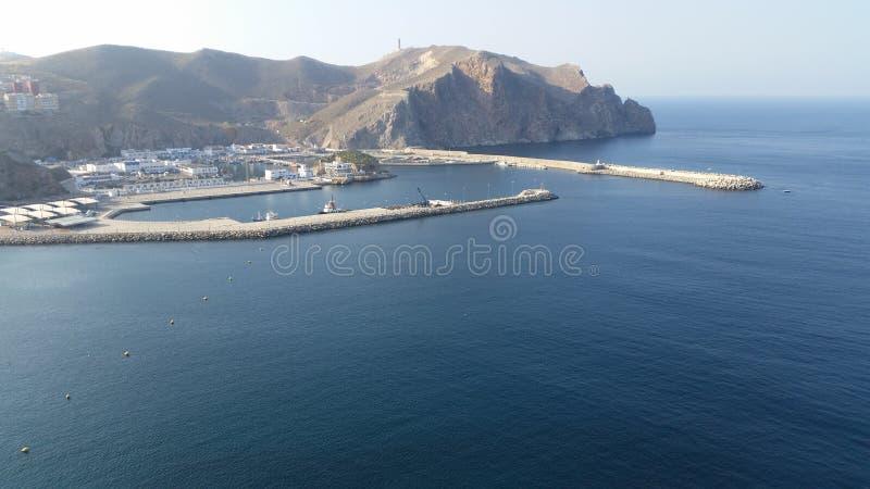 Hafen von Al hoceima, Marokko lizenzfreie stockfotos