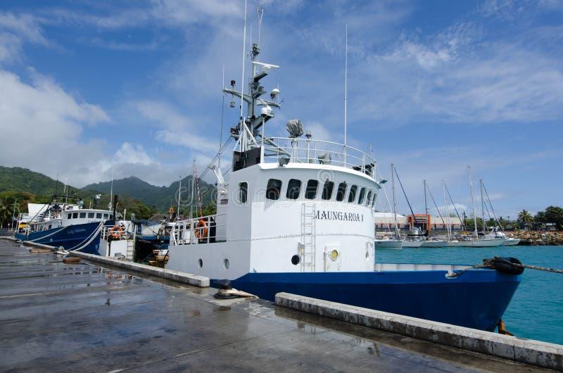 Hafen von Avatiu - Insel von Rarotonga, Koch Islands