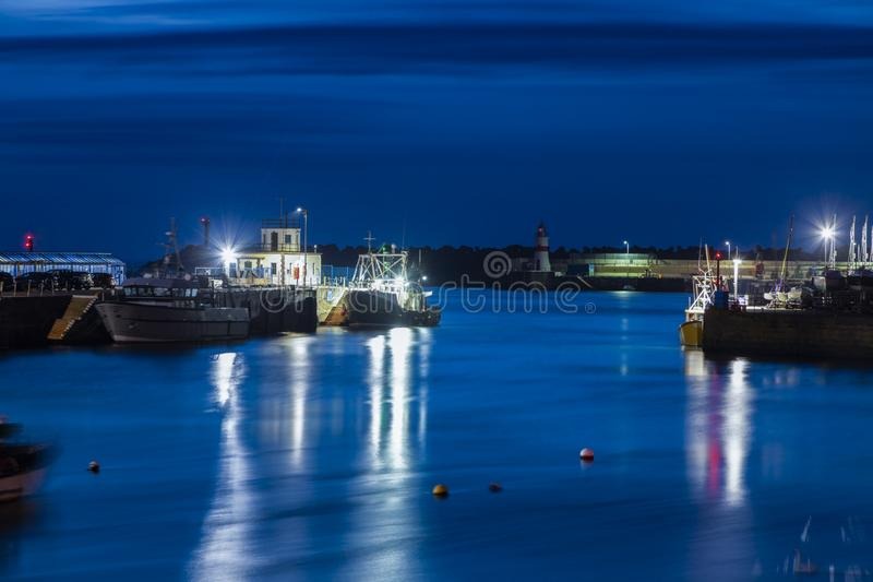 Hafen von Douglas lizenzfreie stockfotografie
