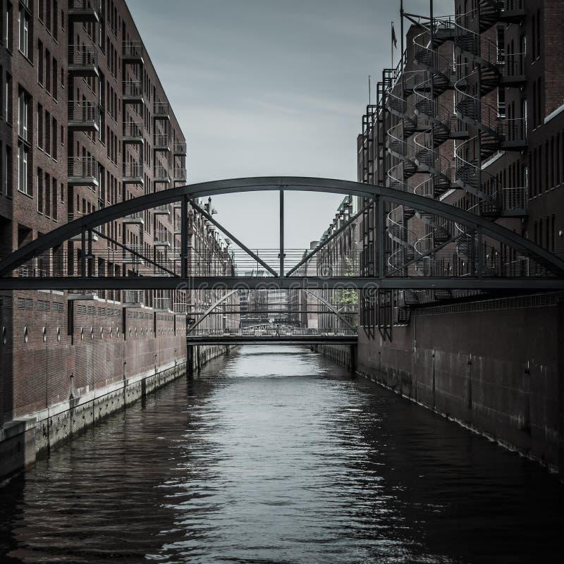 Hafencity stock foto's