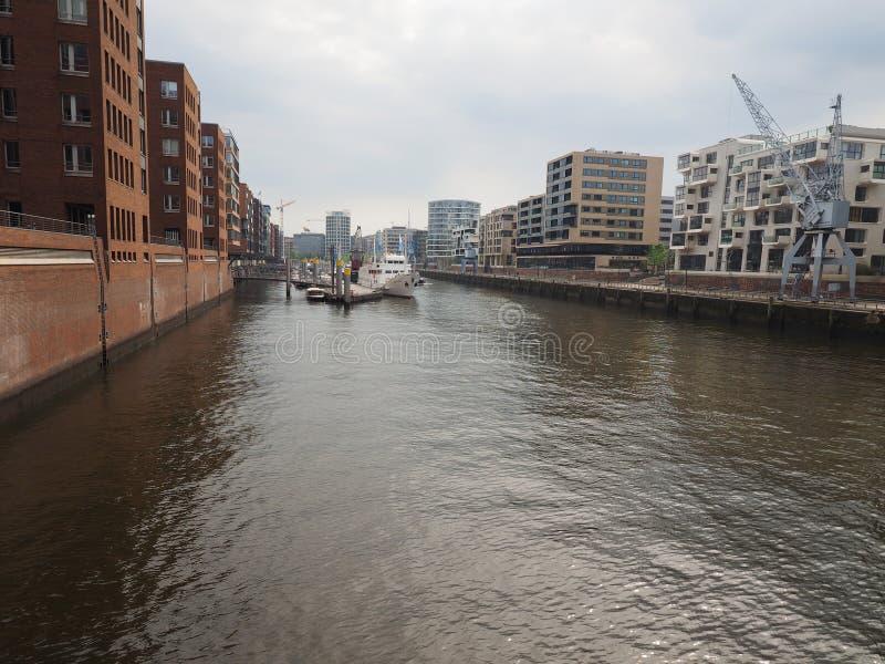 hafencity Hamburg obraz stock