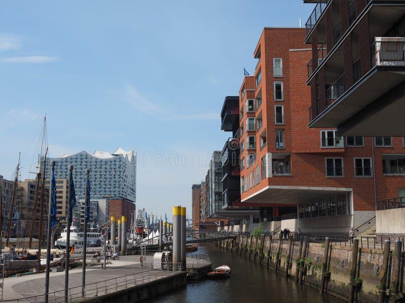 hafencity Hamburg fotografia stock