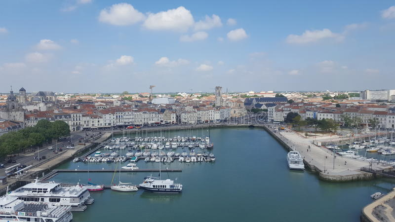 Hafende La Rochelle stockbilder