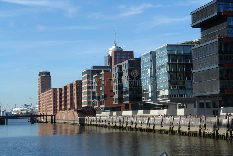 Hafenstadt stockbilder