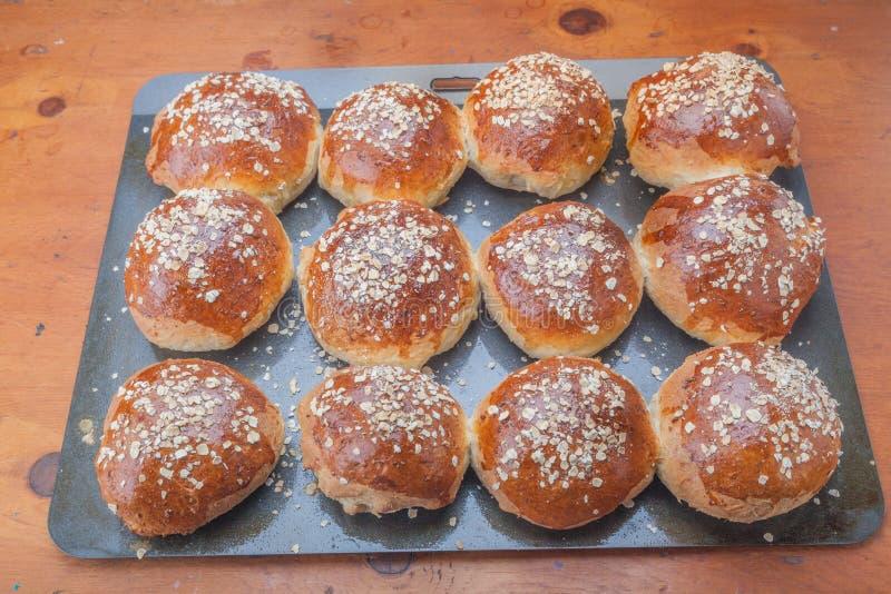 Hafermehl-Melasse-Brot stockbild