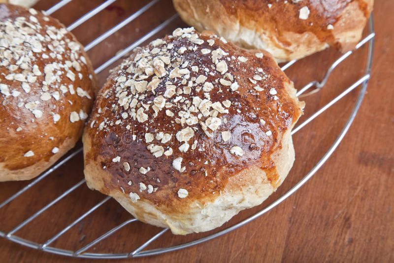 Hafermehl Molassas Brot lizenzfreie stockbilder