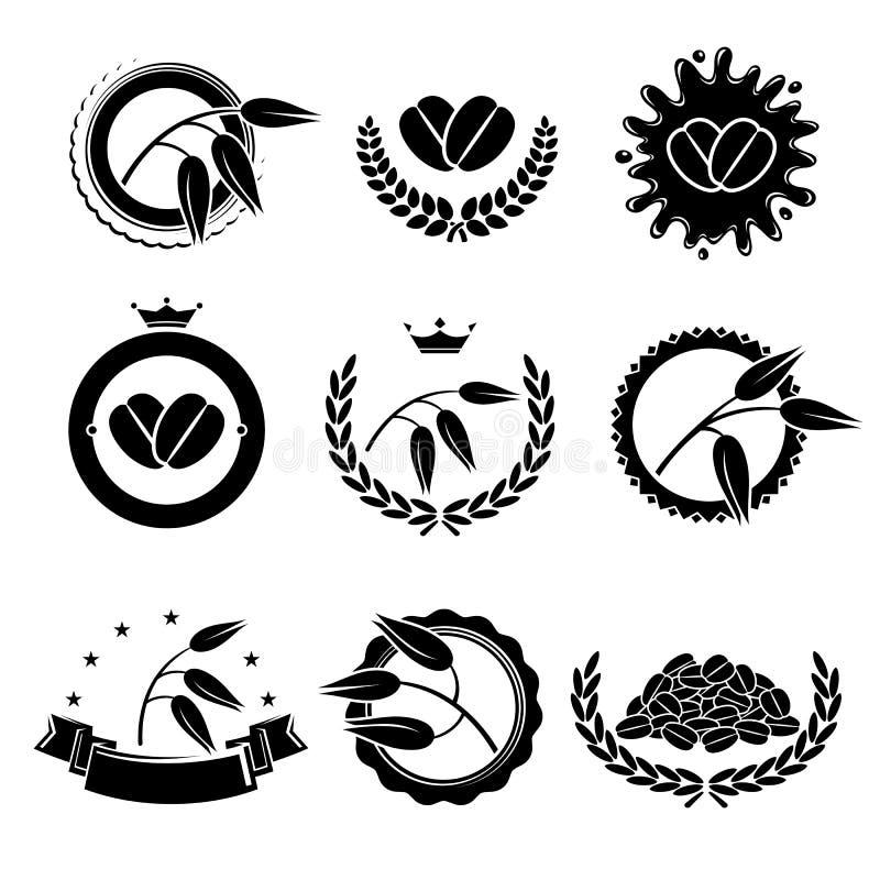 Download Hafersammlungsaufkleber Und Elementsatz Vektor Vektor Abbildung - Illustration von vektor, nave: 90227368