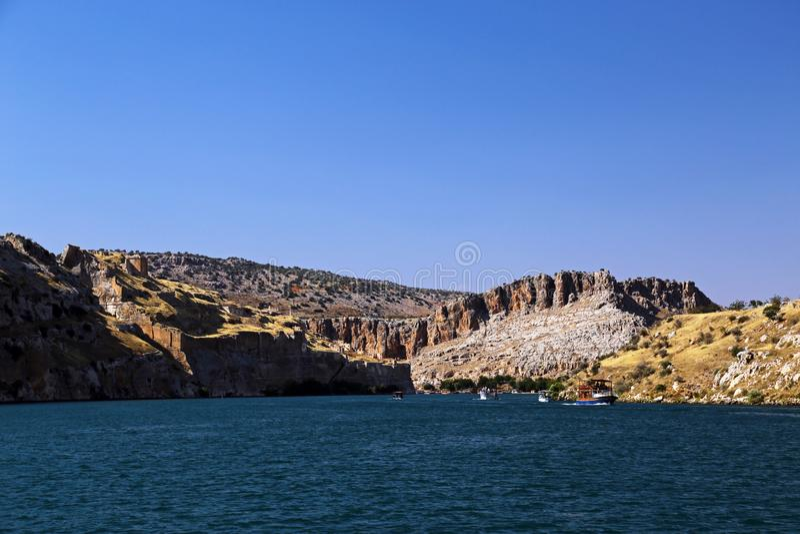 Hafeti sjö i urfaen, kalkon royaltyfri fotografi
