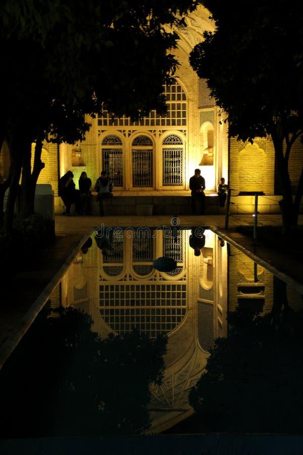 Hafiz-Grab, Shiraz, der Iran stockfotografie