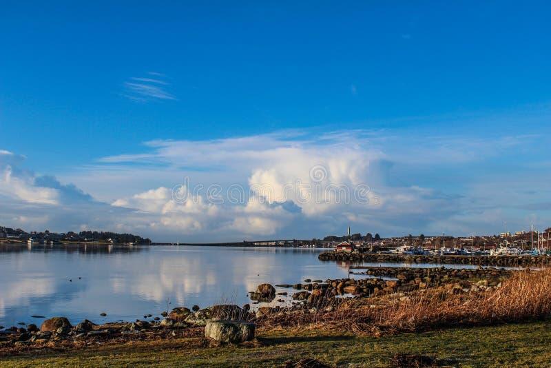 Hafrsfjord fotografia stock